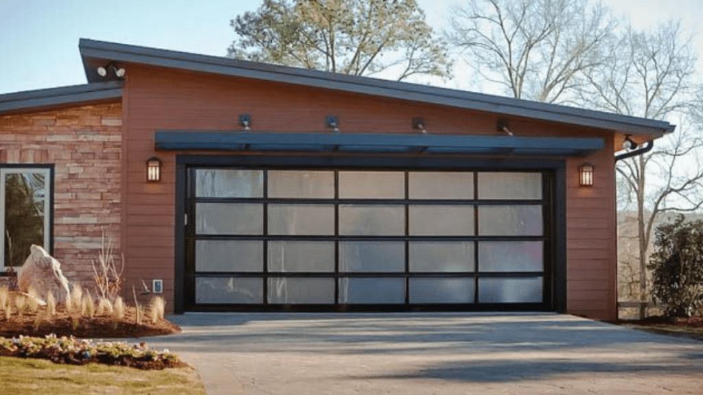 full Glass Garage Doors